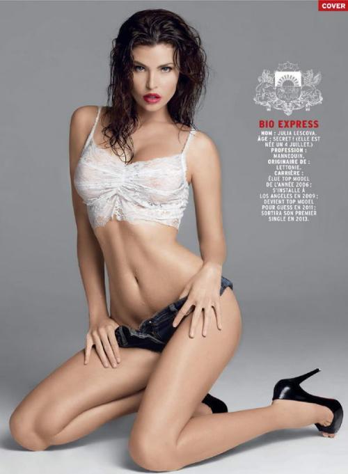 Julia Lescova naked 785