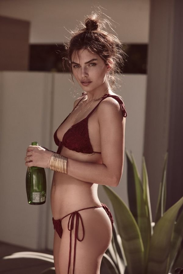 Алисса Миллер снялась в рекламе бренда For Love and Lemons