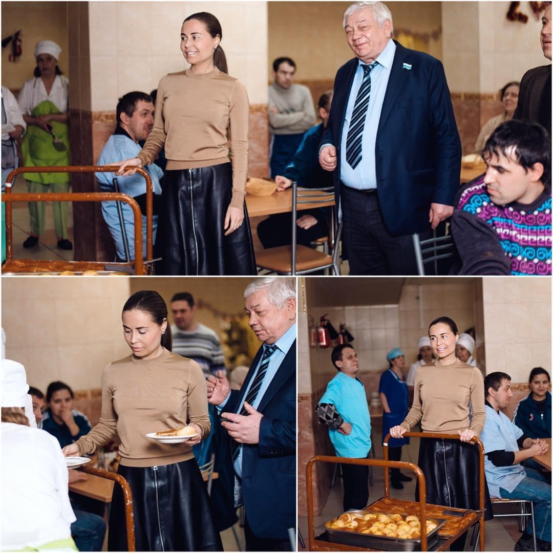 Юлия Михалкова активно занимается благотворительной деятельностью