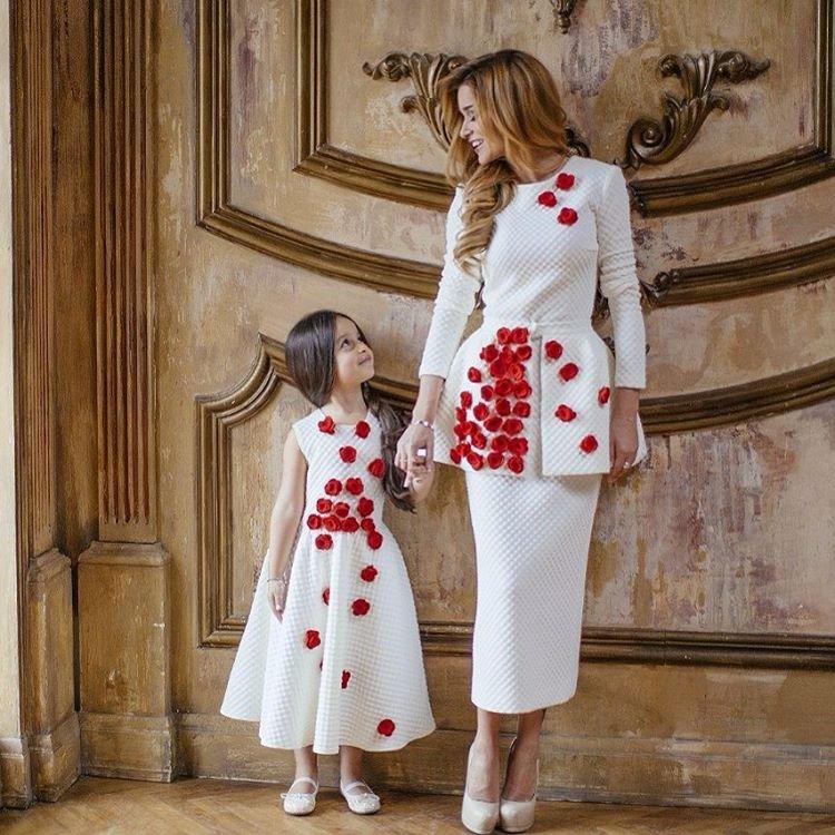 Дочь Ксении Бородиной растет профессиональной моделью