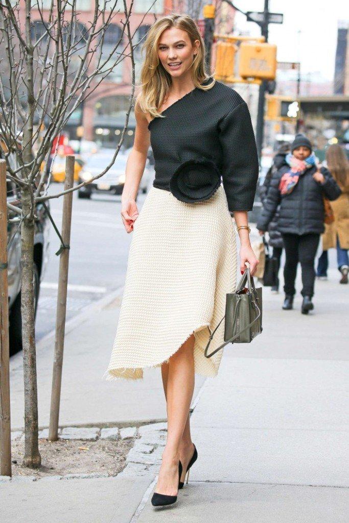 """Карли Клосс : """"Даже в ресторан я иду как на подиум!"""""""