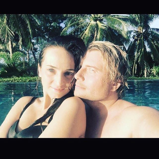 Николай Басков со своей невестой на отдыхе в Тайланде