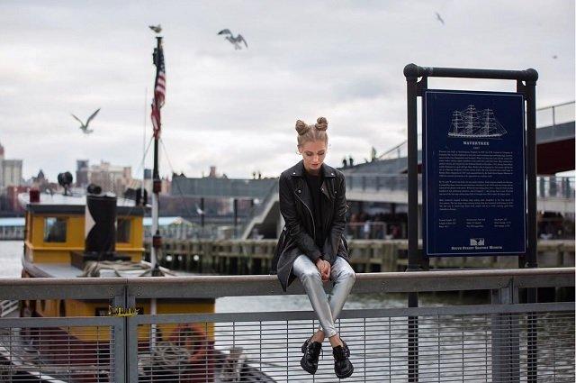 Смелый стиль улиц Нью-Йорка от Кристины Асмус