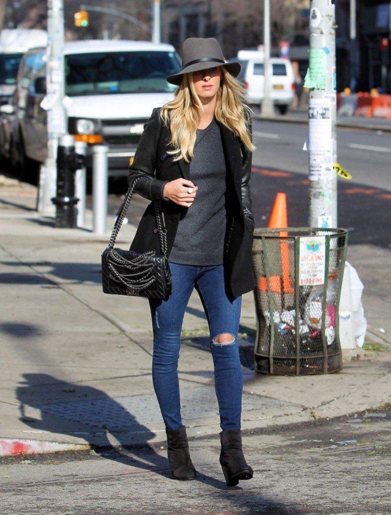 Никки Хилтон прогулялась по Нью-Йорку в модном образе
