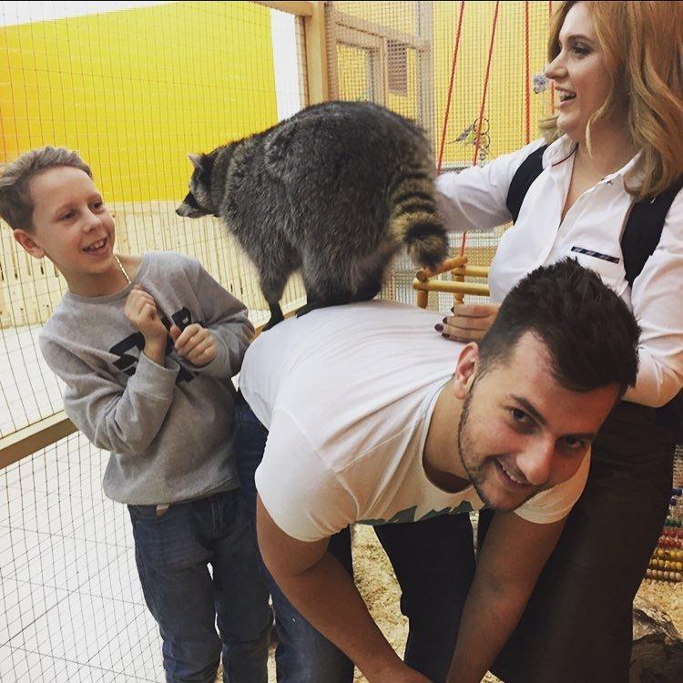 Анастасия Денисова сроднилась с животными дикой природы