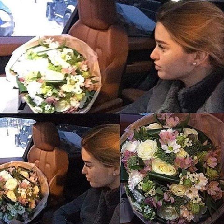Ксения Бородина отметила дату - месяц со дня рождения Теоны