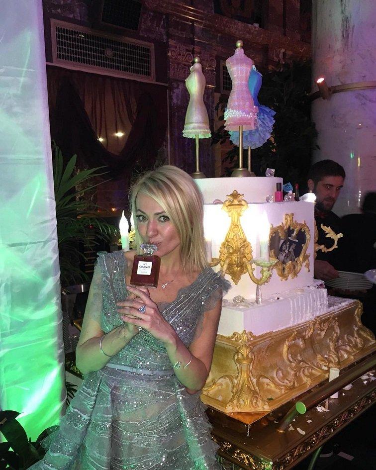 Яна Рудковская с шиком отметила свой День Рождения