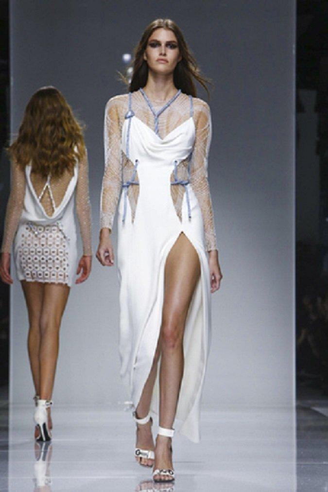 Versace платье белое