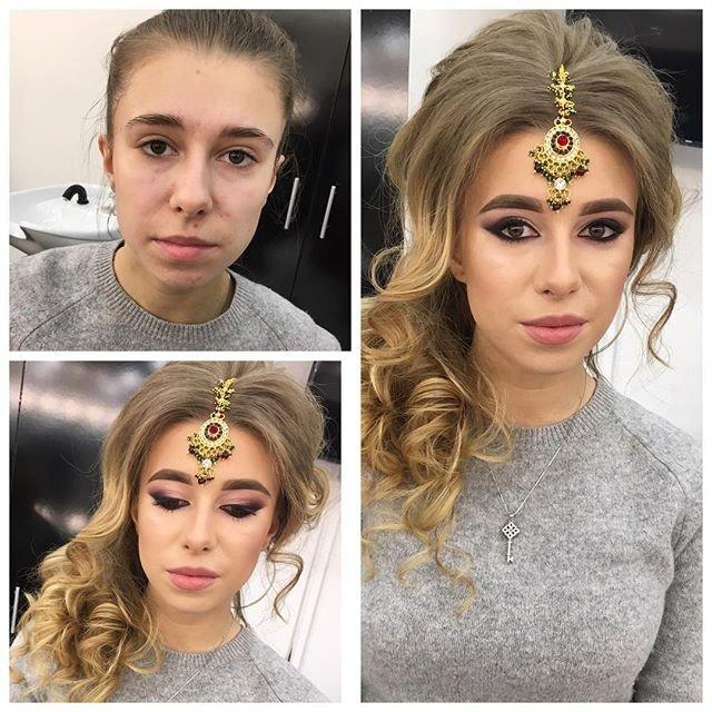 20 фото-примеров, как макияж меняет девушку