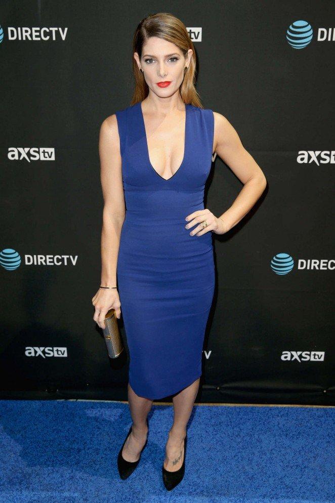 Эшли Грин с умом подобрала три платья для трех вечеринок подряд