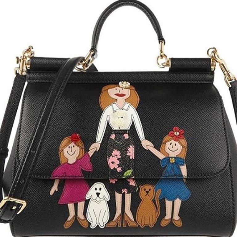 Модный дом Dolce&Gabbana представил необычную коллекцию сумок