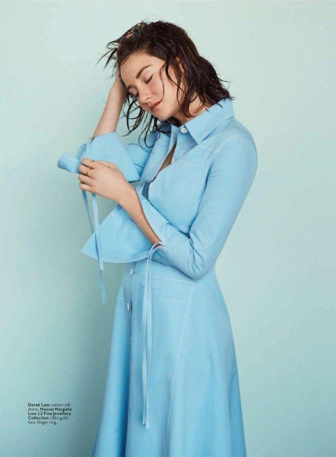 Шейлин Вудли в фотосессии для журнала InStyle