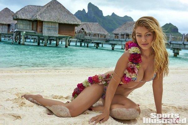 Джиджи Хадид отлично вписалась в пейзажи гавайских островов