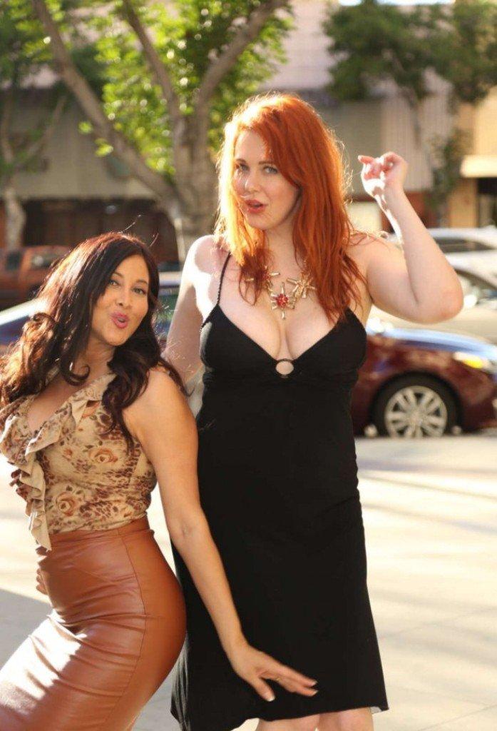 Мейтланд Уорд и Диана Молле устроили стильную фотосессию на улицах Лос-Анжелеса