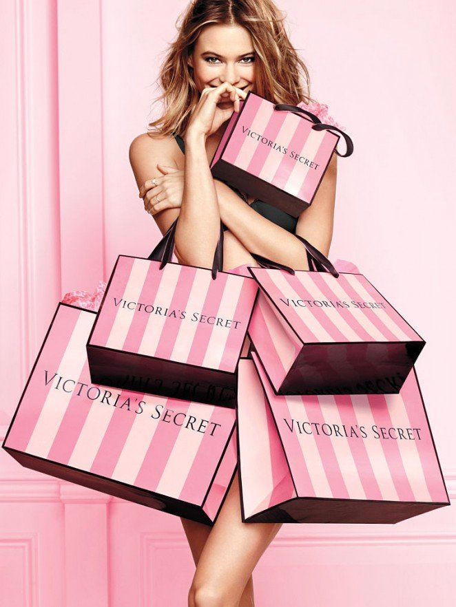 Бехати Принслу рекламирует нижнее белье Victorias Secret