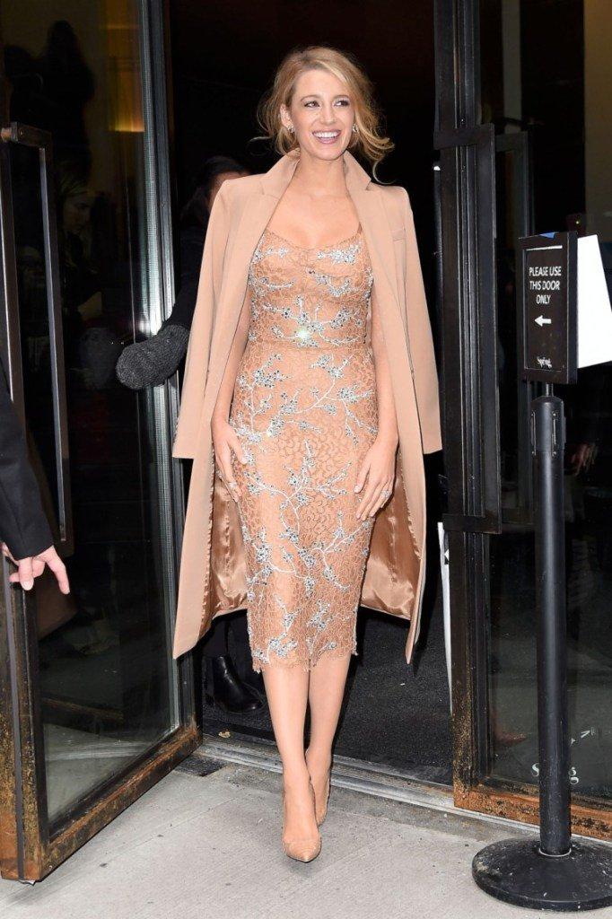 Блейк Лайвли выбрала платье, достойное королевы