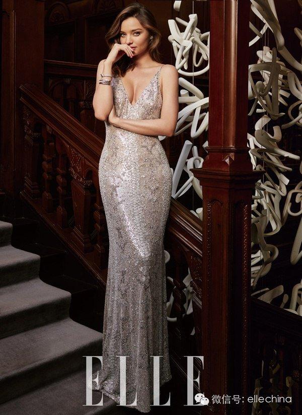 Миранда Керр позирует на обложке китайского Elle