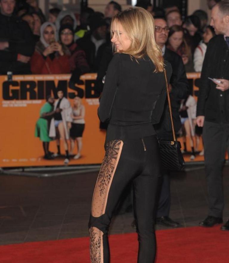 Кимберли Гарнер пришла на премьеру фильма Гримсби в откровенном наряде