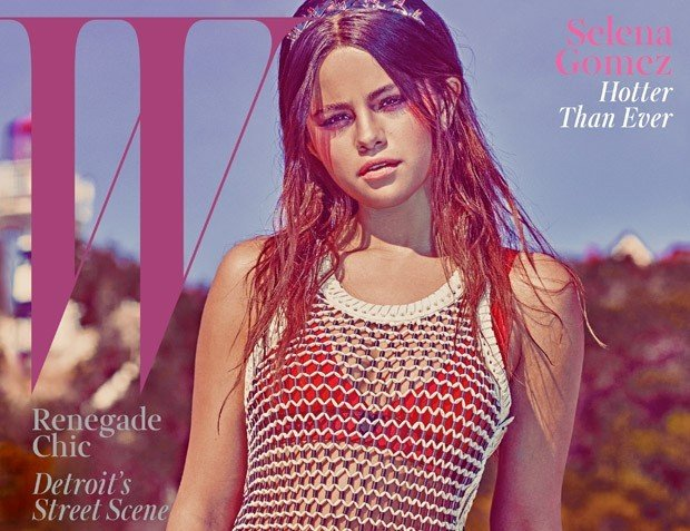Ультрамодная Селена Гомез снялась для W Magazine