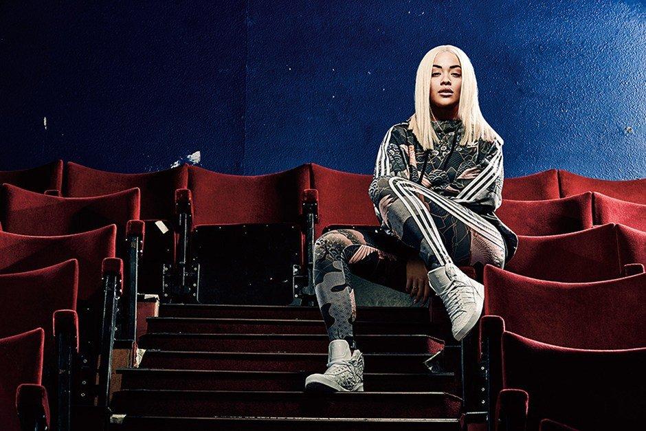 Певица Рита Ора примерила кимоно для рекламы Adidas