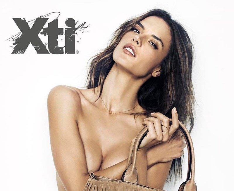 Алессандра Амбросио стала лицом XTI вместо Ирины Шейк
