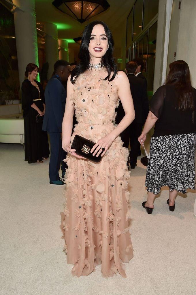 Кристен Риттер посетила светское мероприятие в стильном и изысканном платье