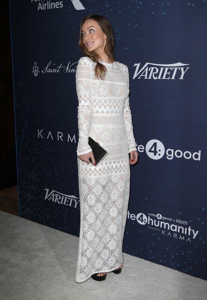 Оливия Уайлд одела умопомрачительное, белое платье