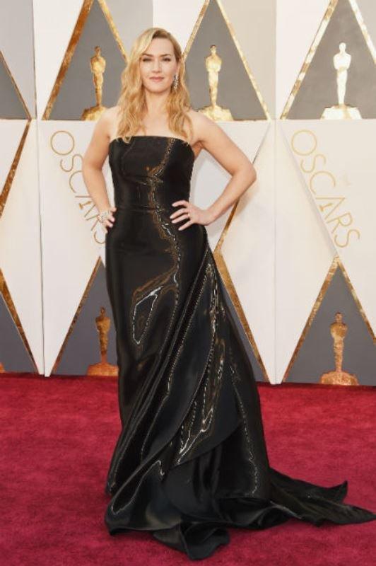 """Леонардо Ди Каприо и Кейт Уинслет на красной дорожке """"Оскар-2016"""""""