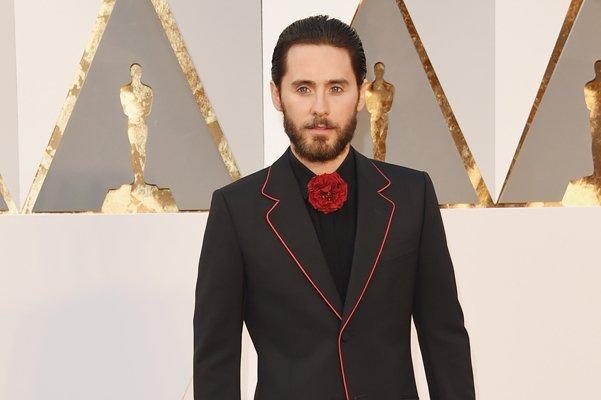 "Джаред Лето на красной дорожке ""Оскар-2016"""