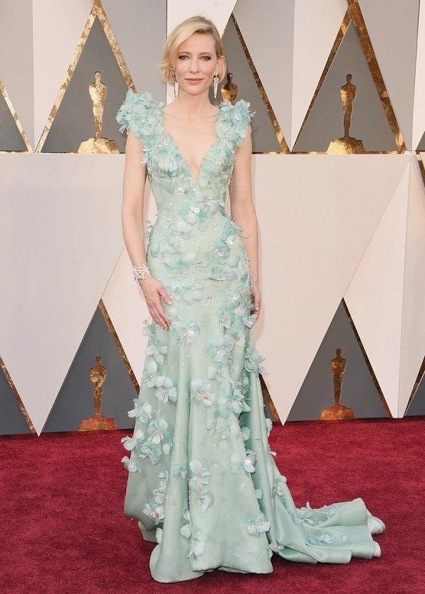 """Роскошная Кейт Бланшетт на красной дорожке """"Оскар-2016"""""""