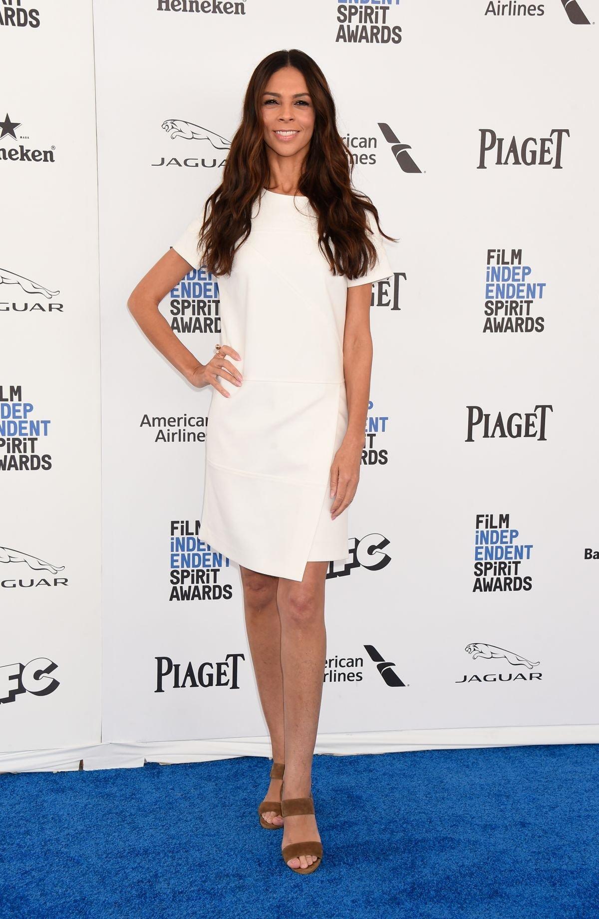 Терри Сеймур выбрала очень простое, но очень элегантное платье для Оскара