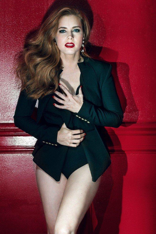 Эми Адамс в горячем фотосете для британского GQ