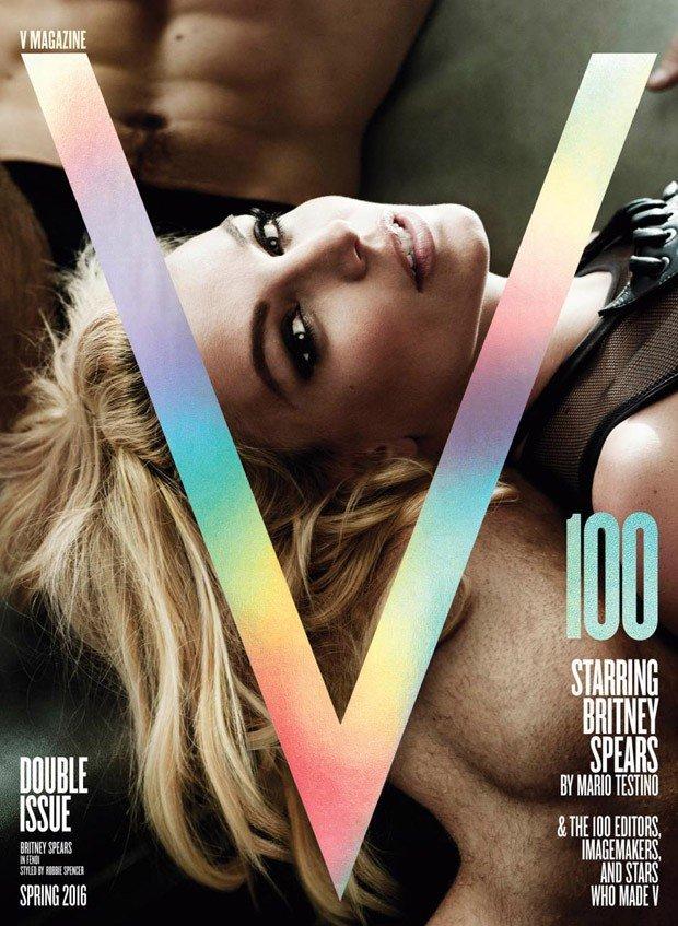 Бритни Спирс снялась в эротичной фотосессии для «V Magazine»