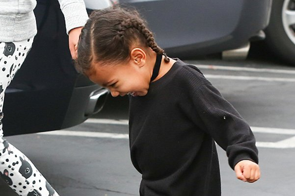 Дочка Ким Кардашьян против шопинга