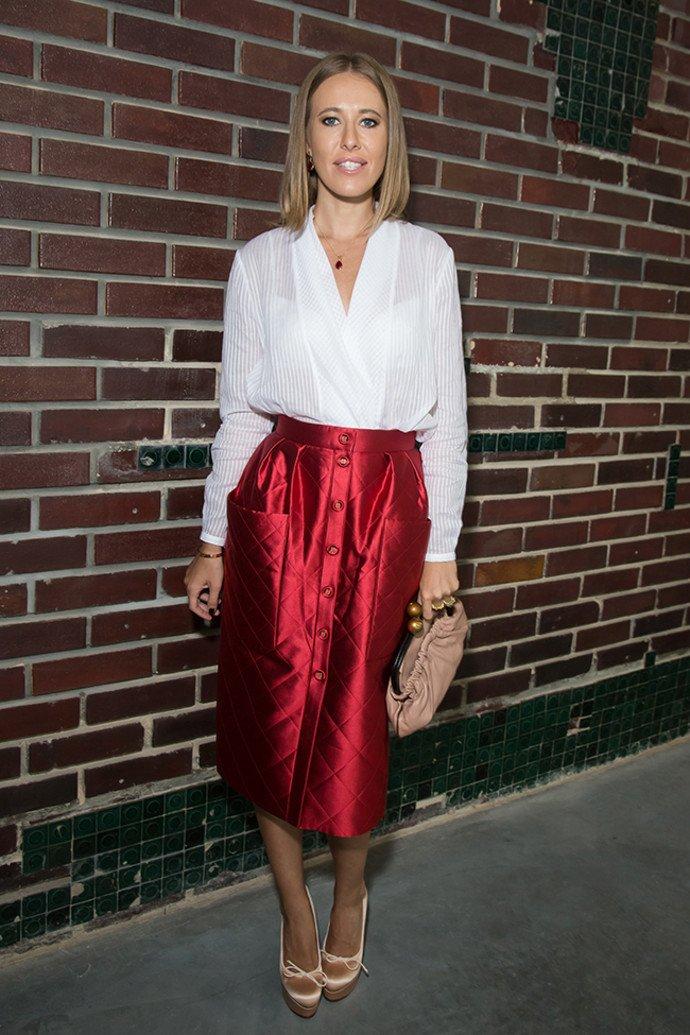 Журнал Vogue оценил образ Ксении Собчак