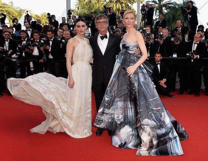 """Кейт Бланшетт и Руни Мара в одном из самых стильных фильмов года """"Кэрол"""""""