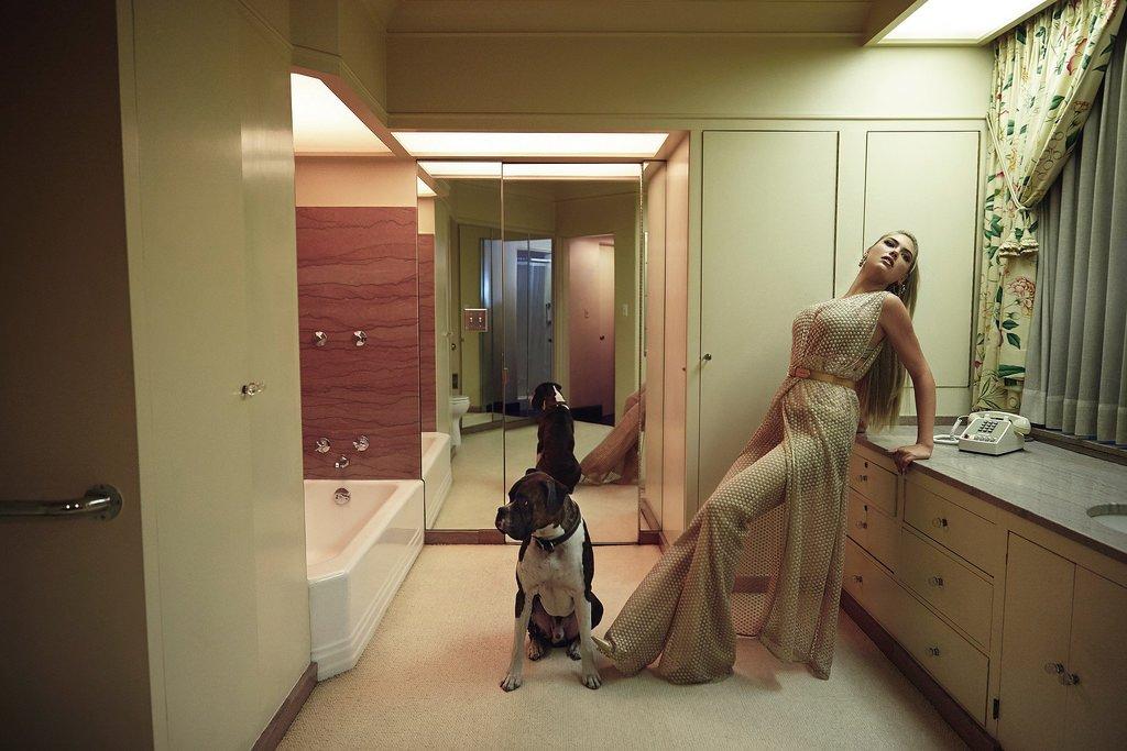 Кейт Аптон снялась в ретро-образе для V Magazine
