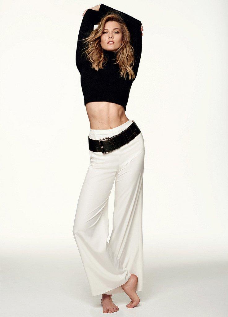Карли Клосс позирует для бразильского Elle