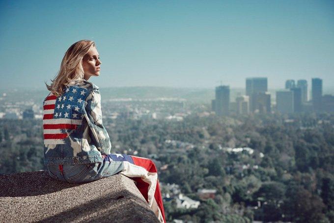 Аня Рубик снялась для модной фотосессии Viva Moda!