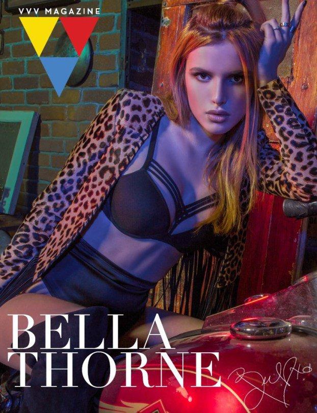 Соблазнительная Белла Торн позирует для VVV Magazine
