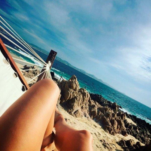 Мария Шарапова показала фото с отдыха в Мексике