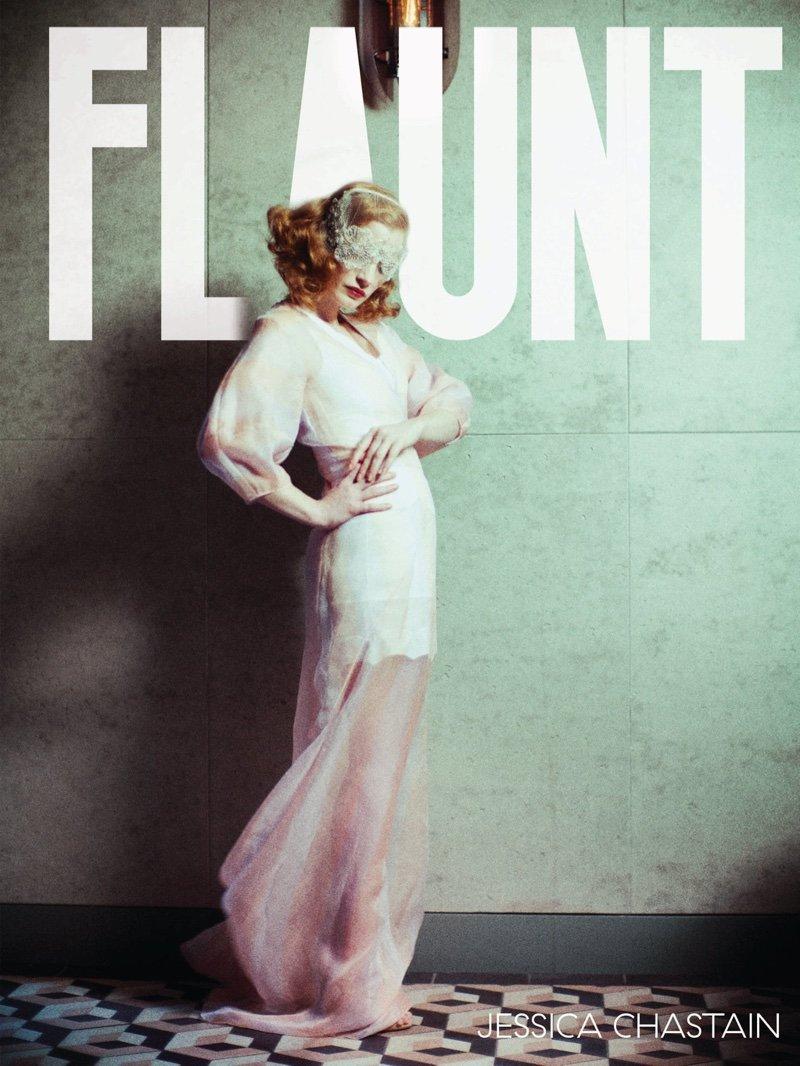 Джессика Чейстен снялась в мистической фотосессии для Flaunt