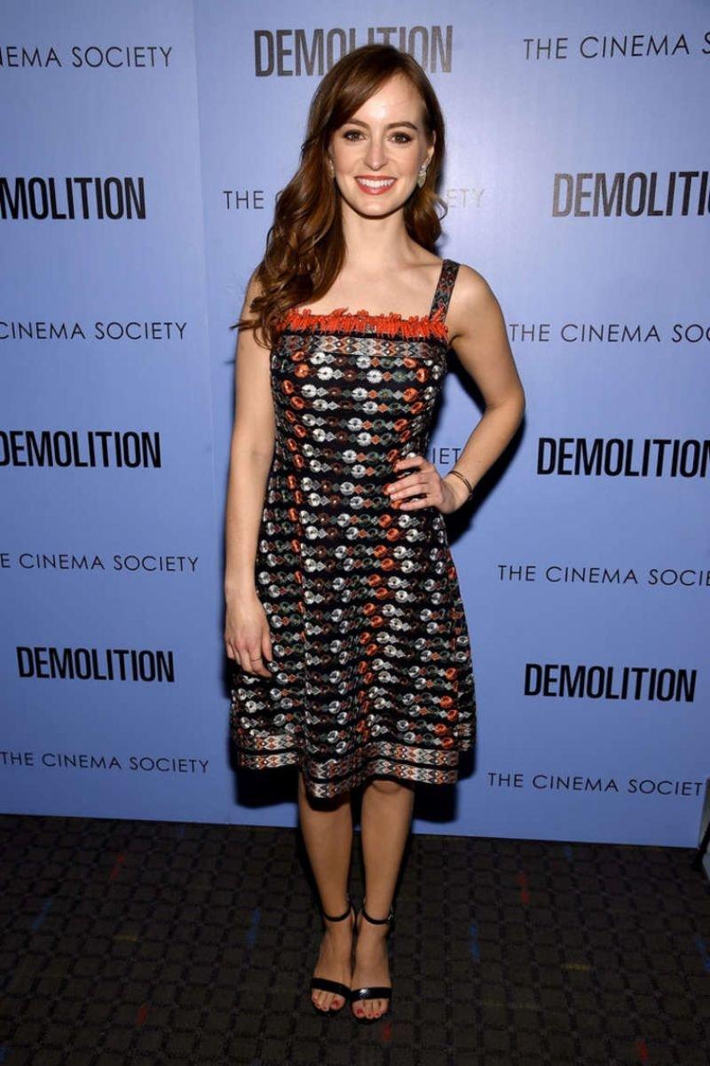 Ана О'Райли выбрала для мероприятия коротенькое платье
