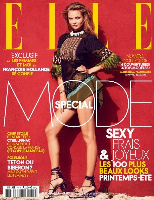 Магдалена Фраковяк в романтичном фотосете для французского Elle