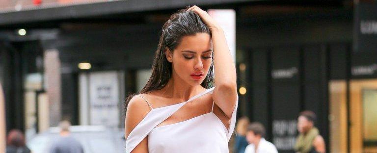 Адриана Лима приняла участие в стильной фотосессии