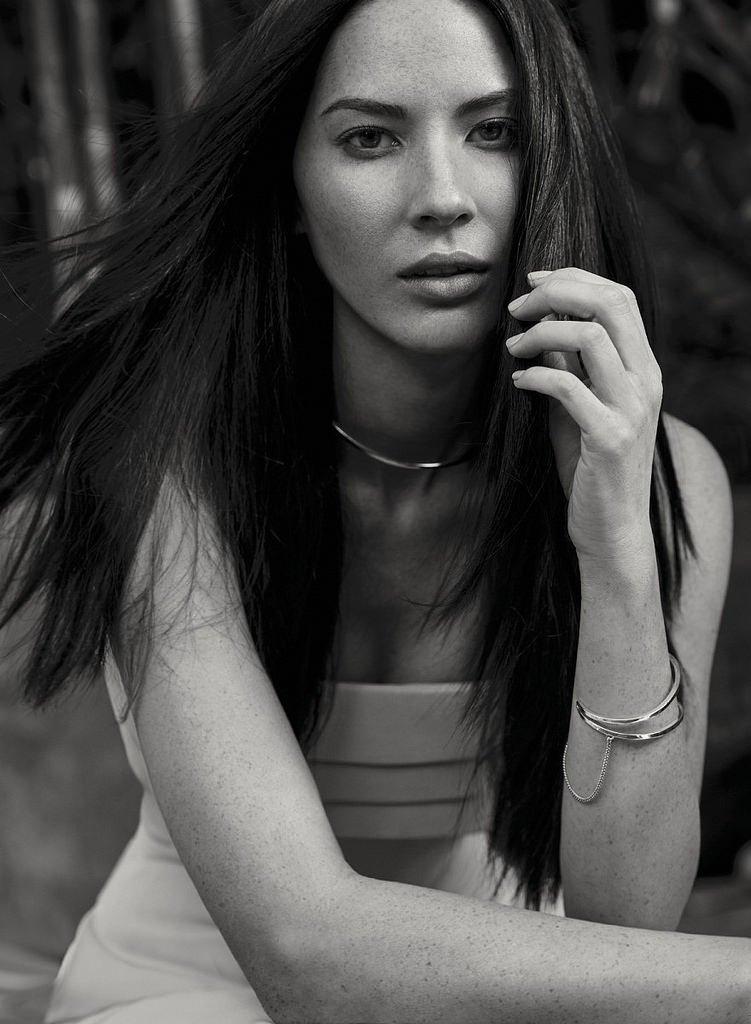 Оливия Манн снялась для модной фотосессии Fashion