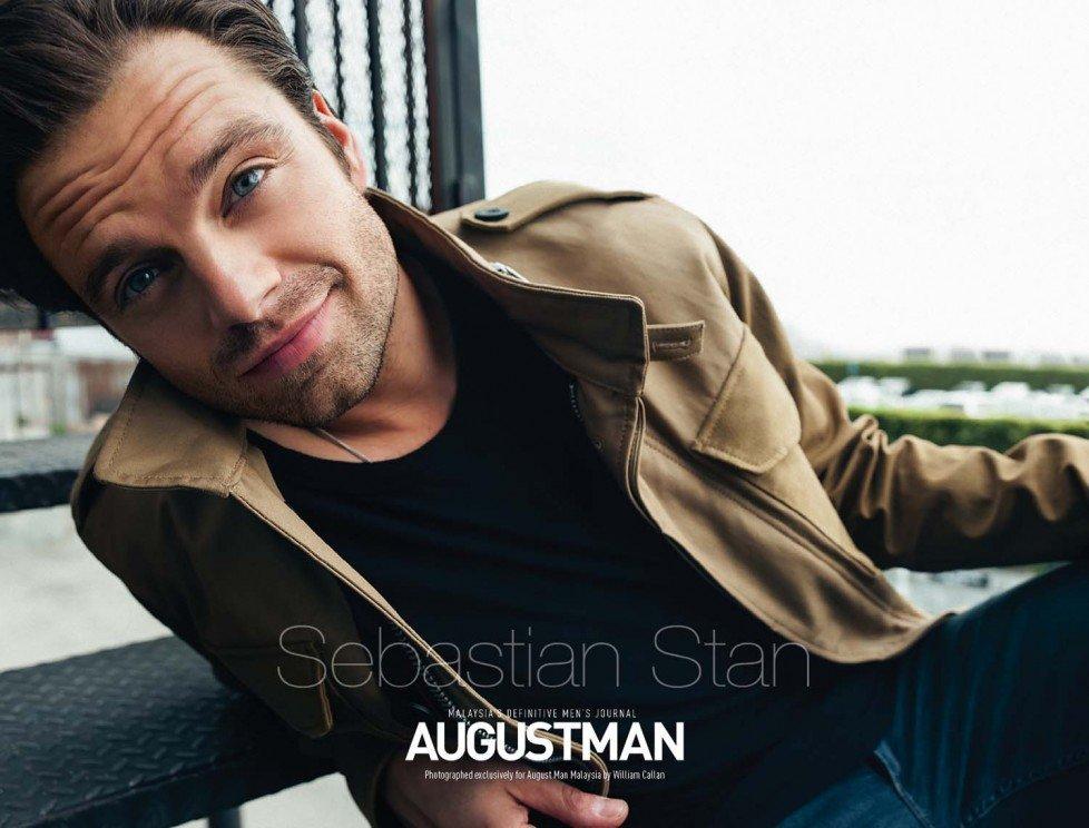 Себастьян Стэн появился на страницах August Man