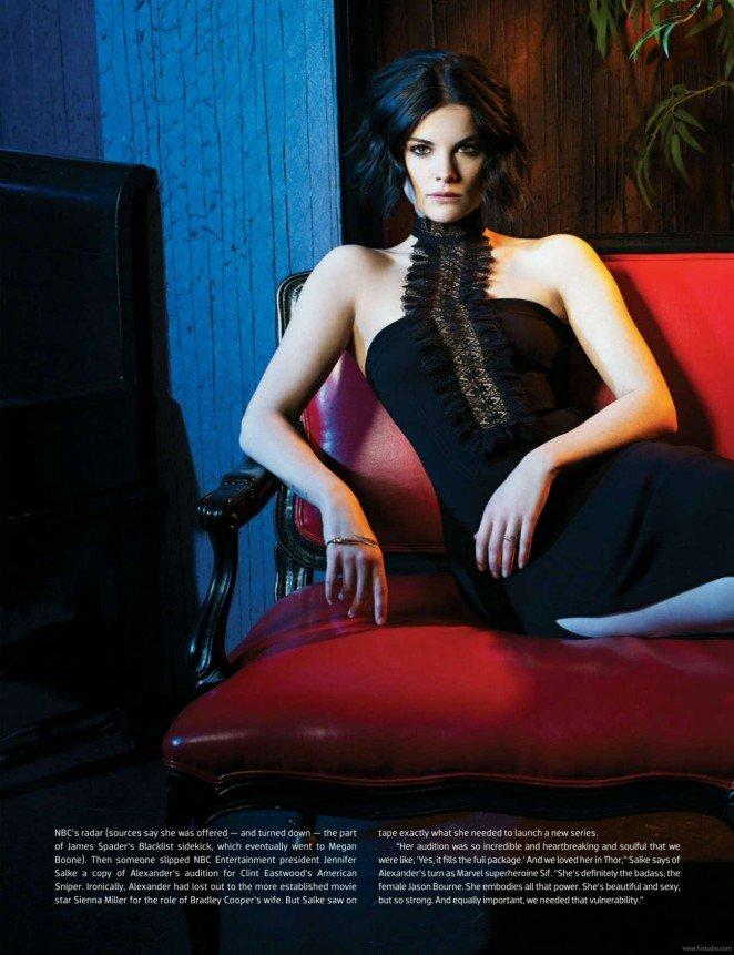 Элегантная Джейми Александер позирует для Emmy Magazine