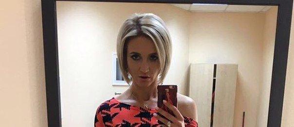 Ольга Бузова примерила очень короткое платье во время съемок