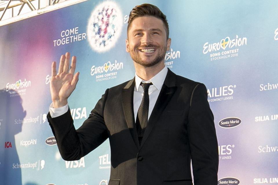 Сергей Лазарев готовится к выступлению на Евровидении-2016